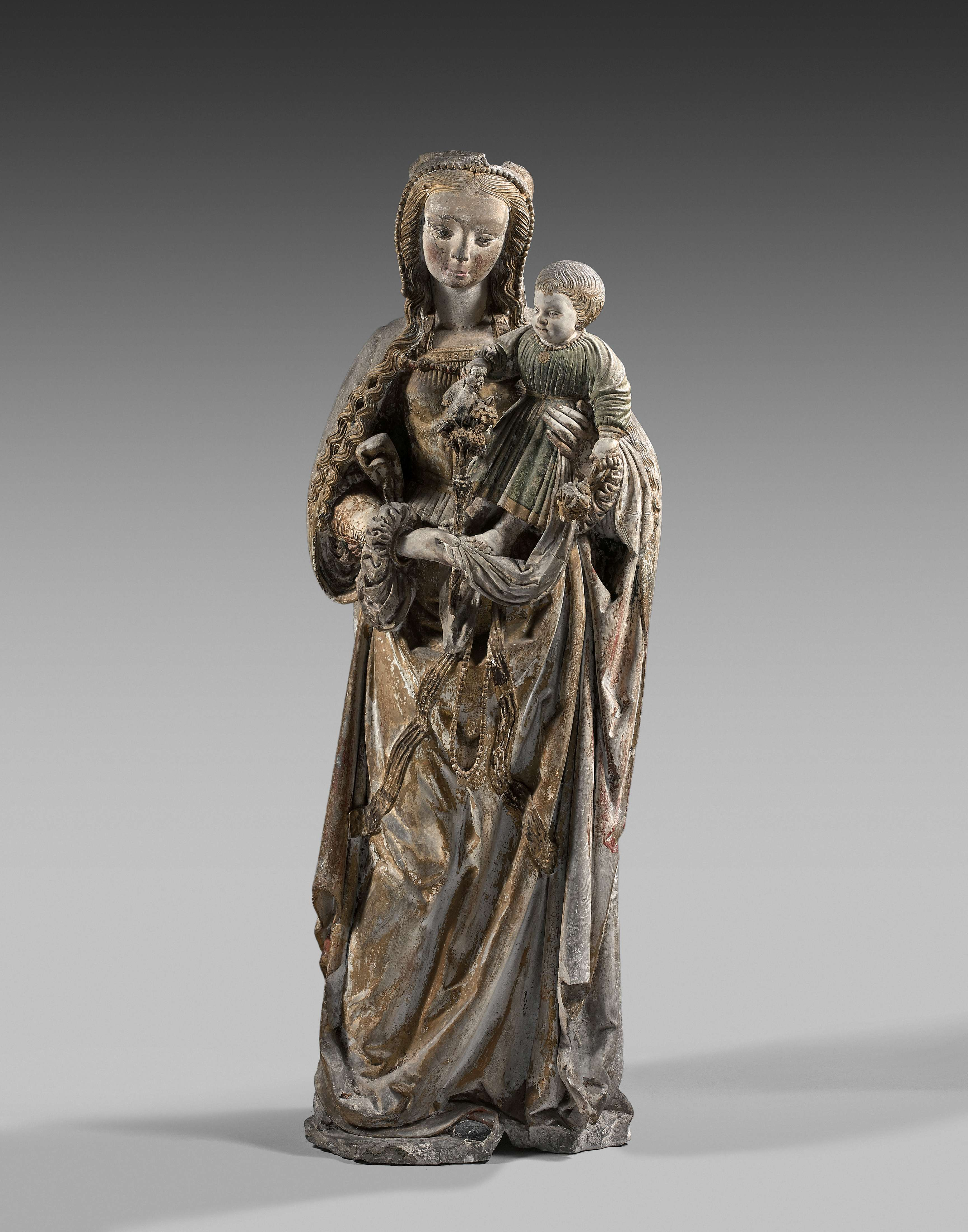 'The Virgin and Child', Southern Champagne, c. 1525-1530. Photo: Artcurial