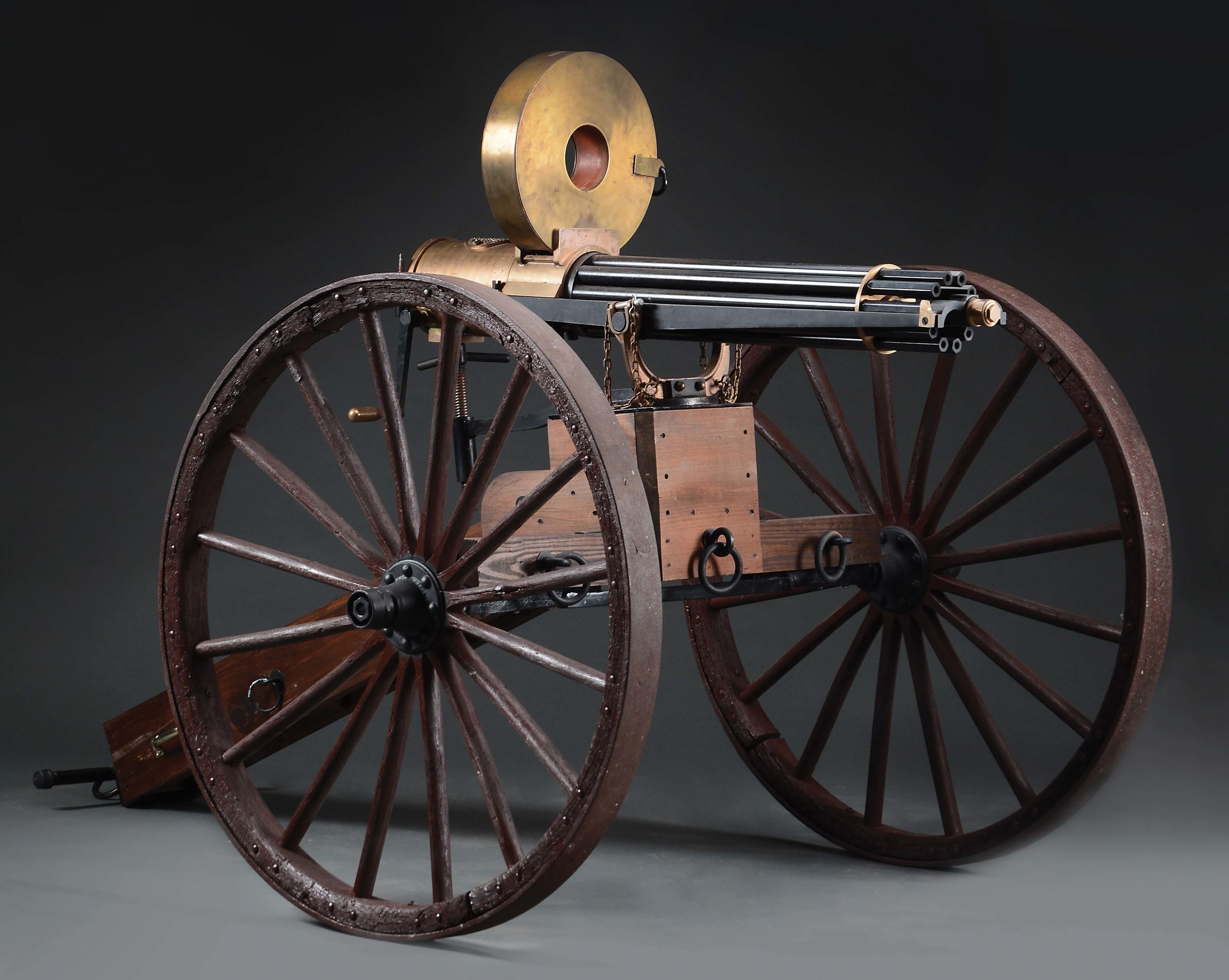 Colt 1874 Gatling Gun