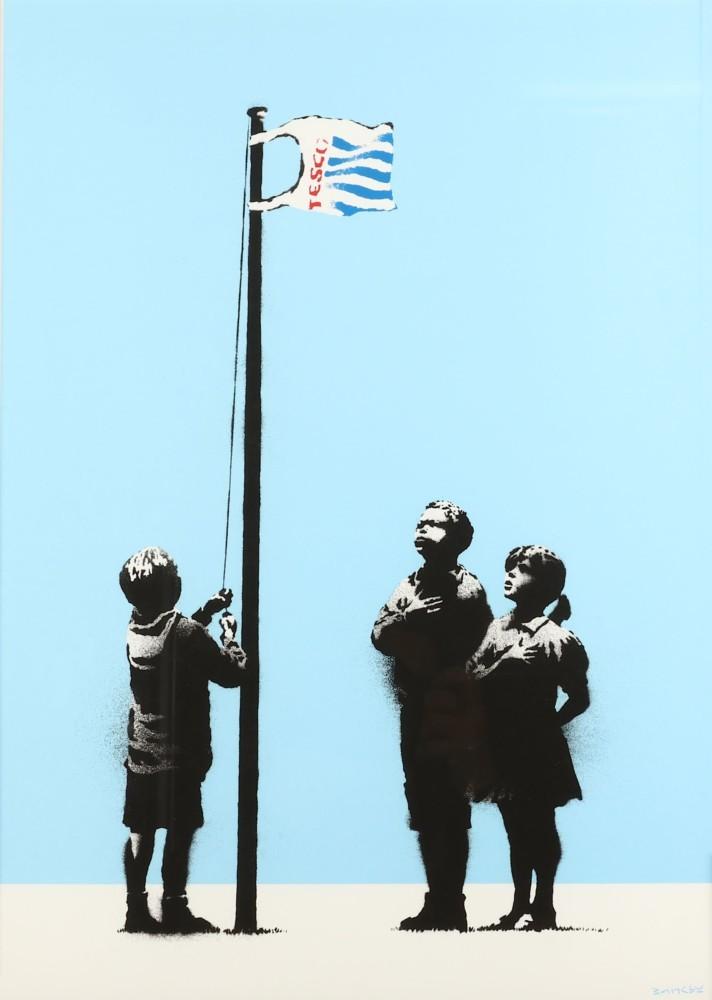 "Banksy, ""Very Little Helps"", 2008. Foto: Chiswick"