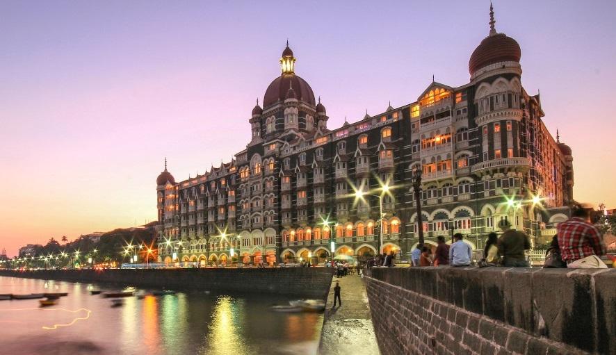 Le Taj Mahal Palace Hotel, image via localpress.co.in