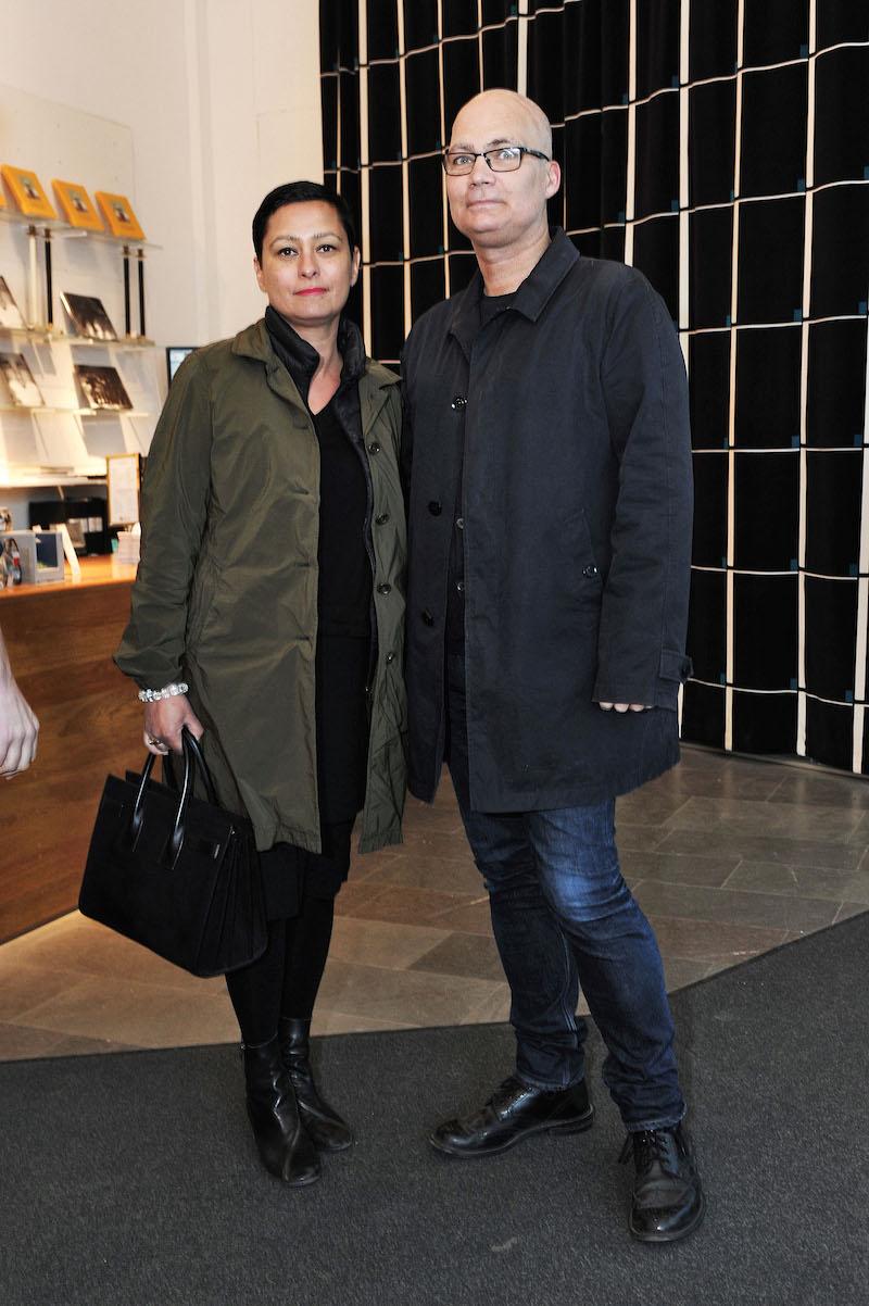 Maria Veerasamy (VD Svenskt Tenn) och Bruno Eliasson