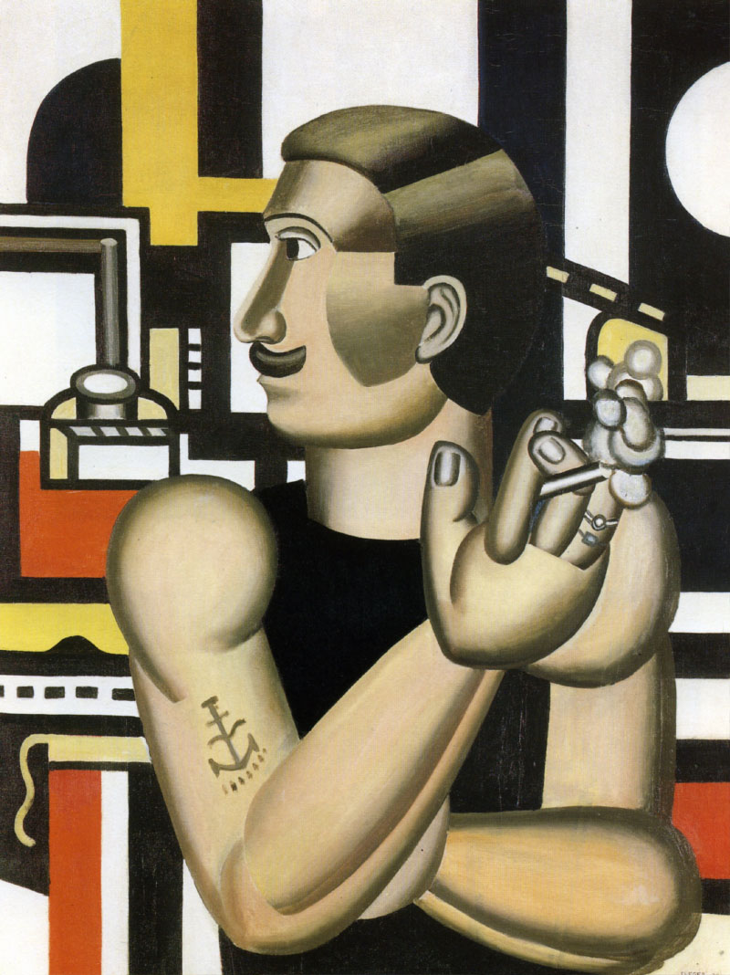 The Mechanic, Fernand Léger (1920) Foto: Allpaintings