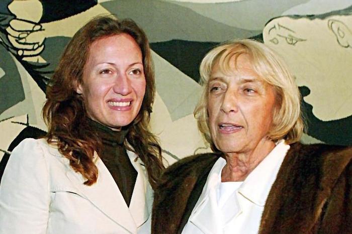 Maya och Diana Widmaier-Picasso. Foto: focus.de