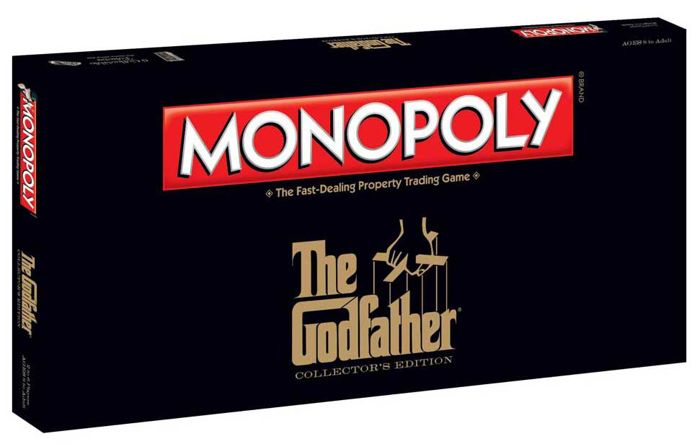 Monopoly, édition The Godfather, image ©Catawiki