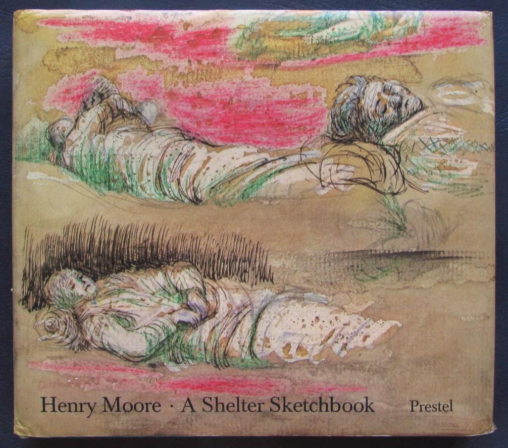 Henry Moore, Shelter Sketchbook, image © Abe Books