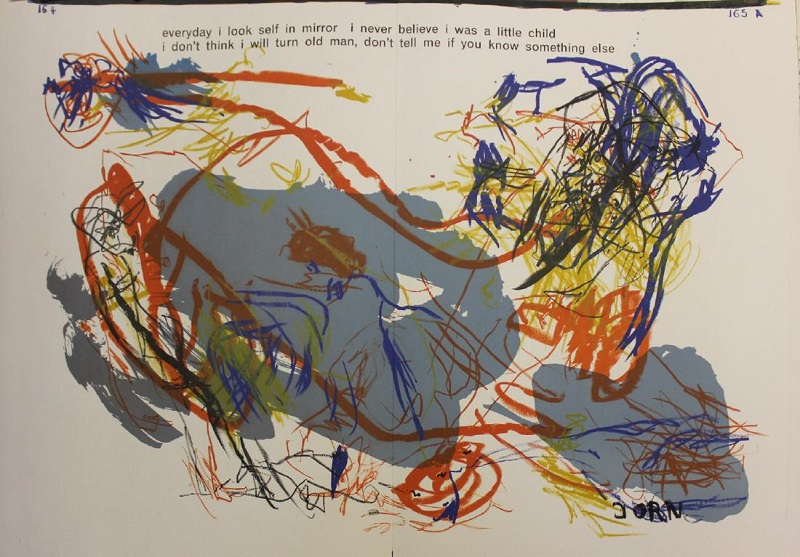 """ASGER JORN. """"One Cent Life"""" (1964)"""
