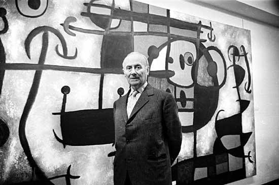 Joan Miró Image: Robert Stiggins—Hulton Archive/Getty Images