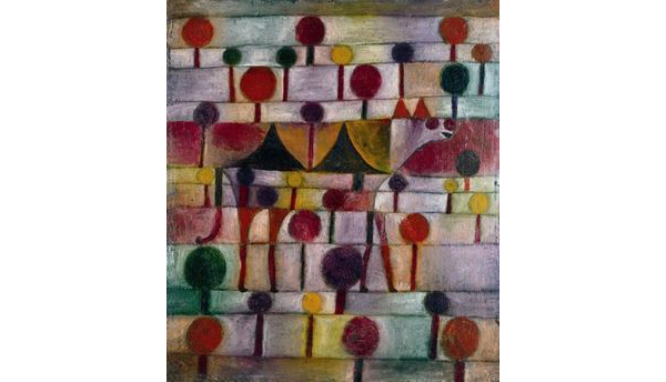 Paul Klee, 'Camel (in rhythmic landscape with trees', oil on canvas, 1920