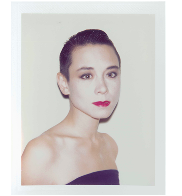 Andy Warhol, Tina Chow unique polaroid print4¼ x 3 3/8 in. (10.8 x 8.5 cm.)Executed in 1985.Image: Christie's