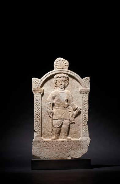 Roman marble gravestone Starting bid: $40 000