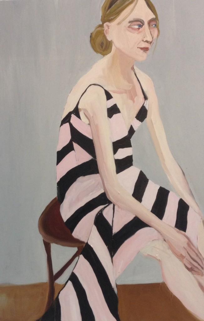 Victoria Miro London visade bland annat Chantal Joffe.