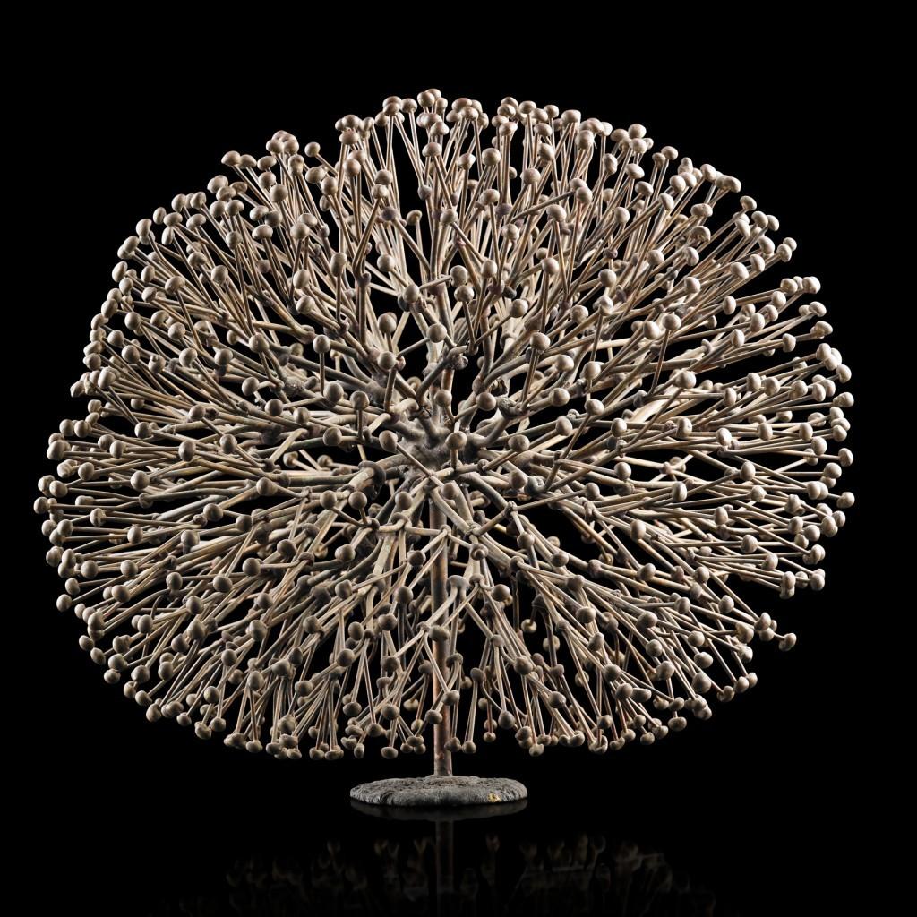Harry Bertoia, sculpture sans titre (Bush), Bally, PA, années 1970, estimation: 25 000 - 30 000 dollars
