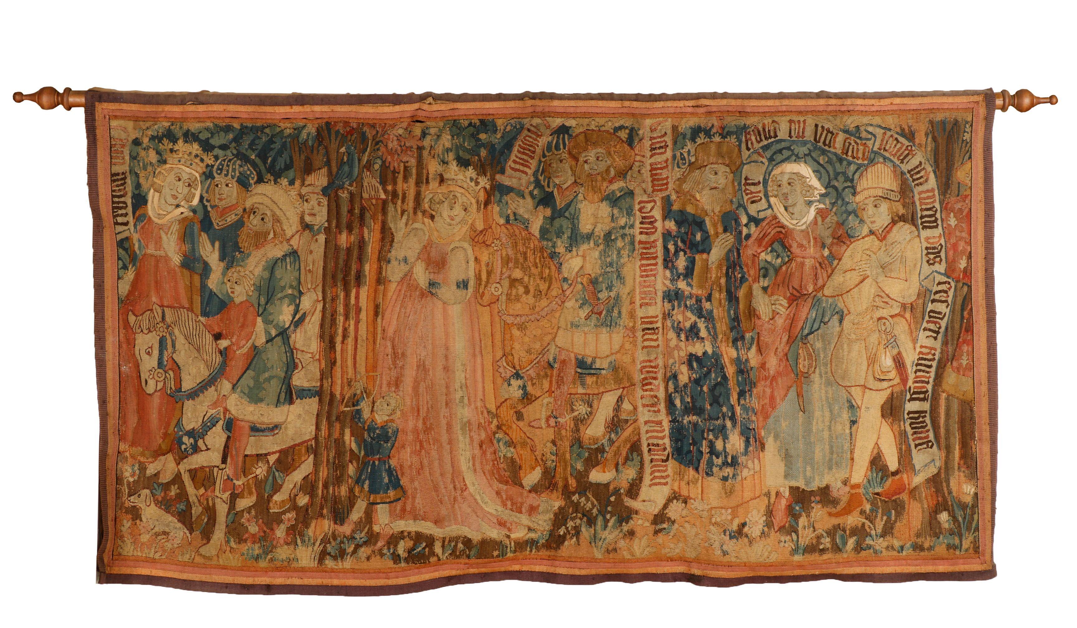 16th century tapestry panel