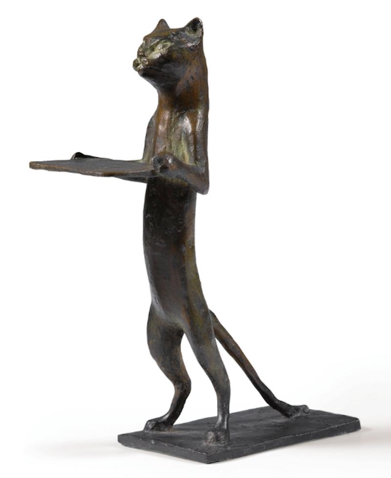 Diego Giacometti, Chat Maître d'Hôtel, 1961. Bild från Sotheby's.