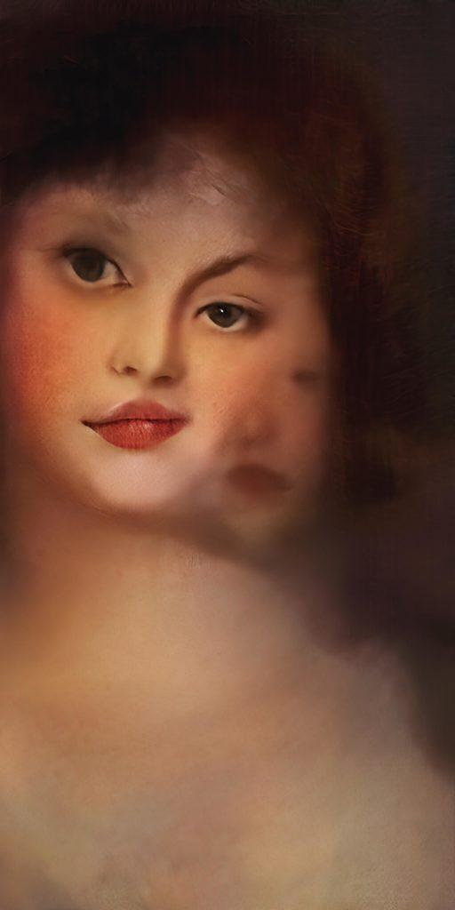 Mario Klingemann, 'Portrait of a Woman'. Photo: © Sotheby's