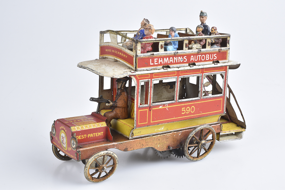 LEHMANN Autobus 590, gestempelt Oest Patent 13. September 1904 | Foto: Alino