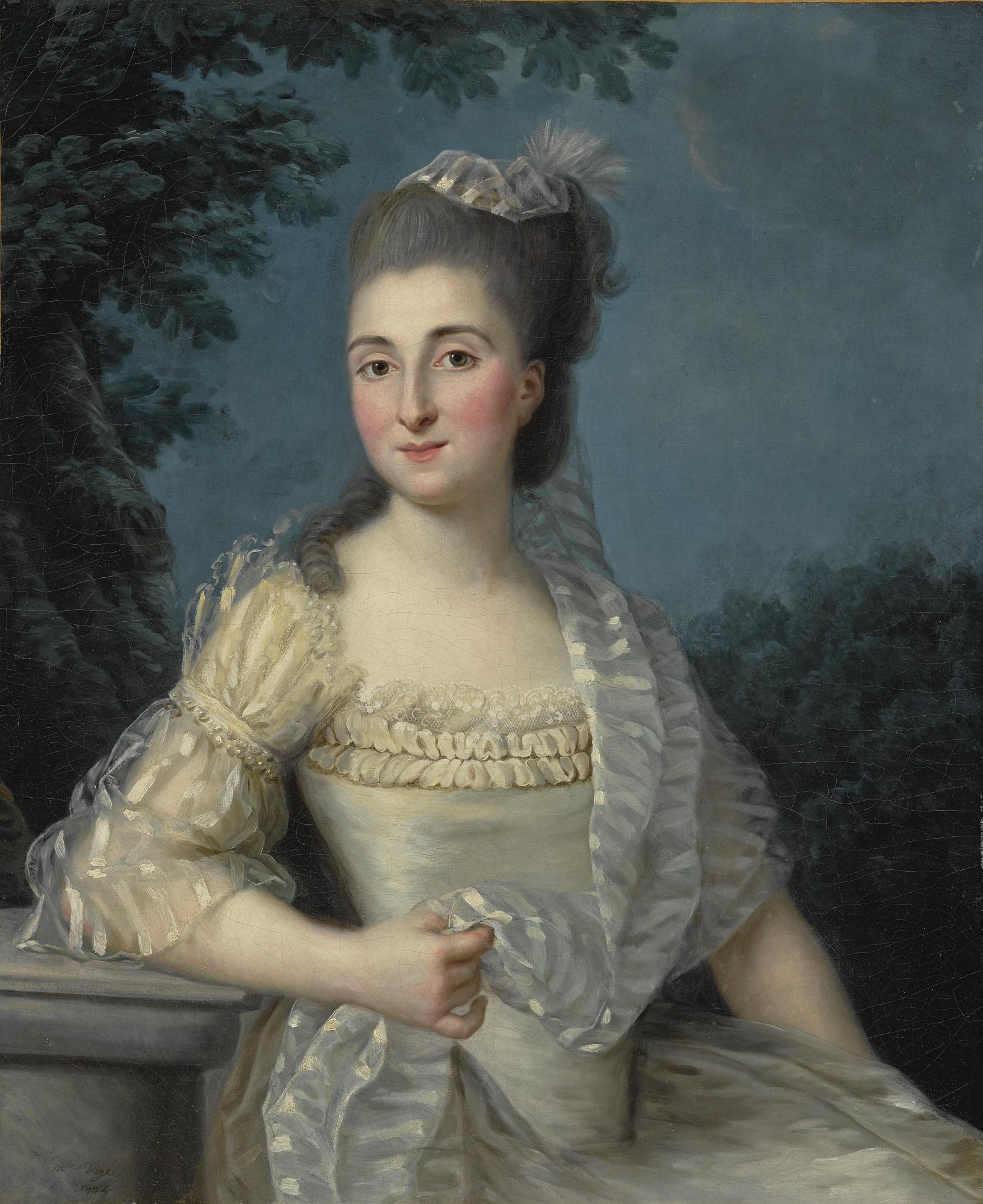 Auch am 31. Januar kommt bei Sotheby's in New York eine Arbeit Élisabeth Vigée-Lebruns zum Aufruf. Das Portrait einer jungen Dame von 1774 ist eine frühe Arbeit der damals erst 19-jährigen Malerin | Abb.: Sotheby's