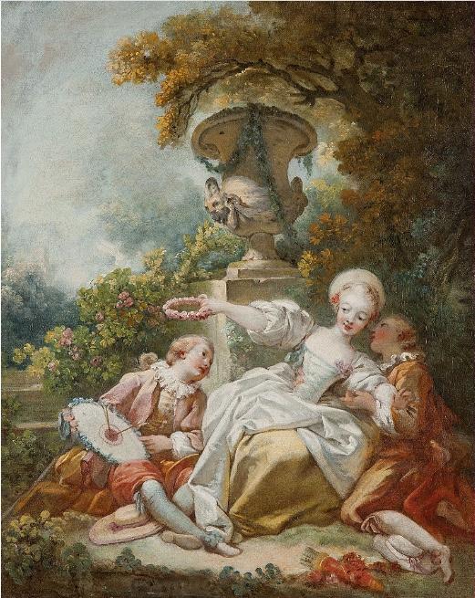 JEAN-HONORÉ FRAGONARD (1732-1806) - La coquette fixée, Öl/Lwd., 55,9 x 45,7 cm Schätzpreis: 200.000-400.000 EUR