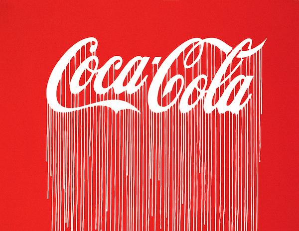 Liquidated Coca-Cola (Luminescent Print Edition), ZEVS. En vente pour £275 chez Lazarides London