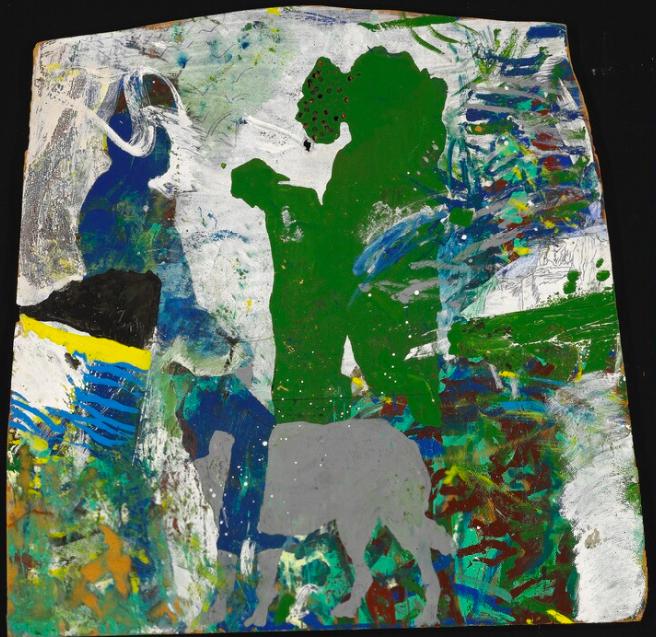 Per Kirkeby, « Wolf», ca. 1964, image ©Bruun Rasmussen
