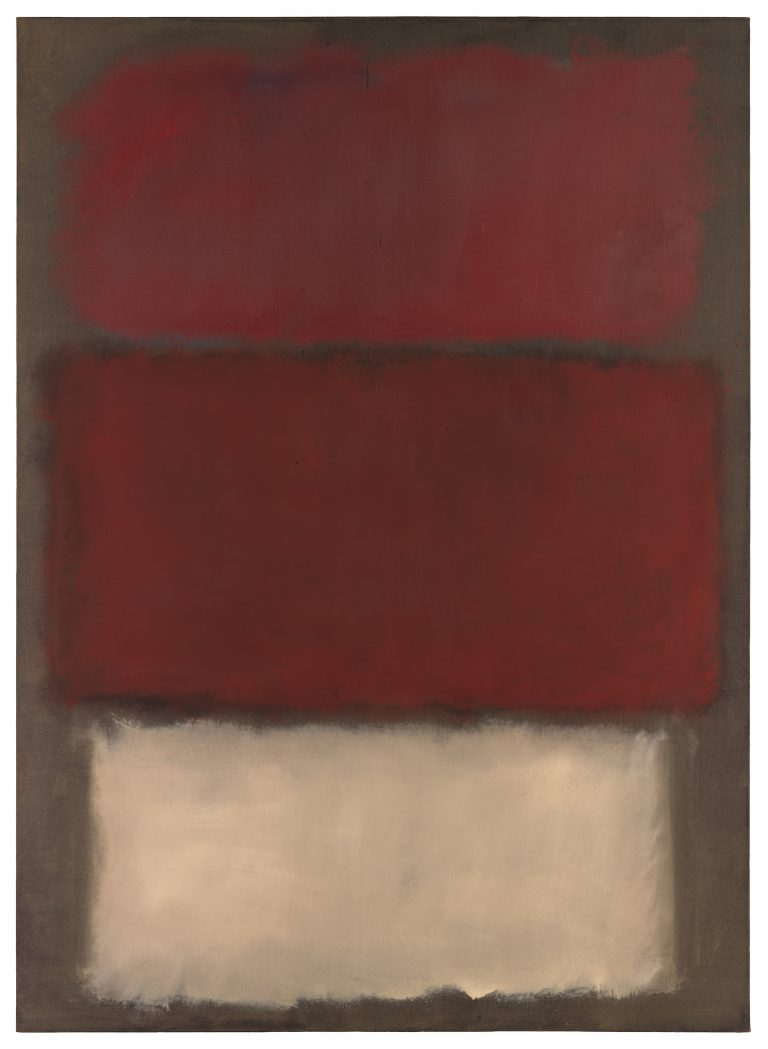 Mark Rothko, Ohne Titel, 1960, San Francisco Museum of Modern Art © 1998 Kate Rothko Prizel & Christopher Rothko / Artists Rights Society (ARS) New York | Foto: Katherine Du Tiel