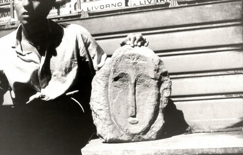 La cabeza esculpida por Michele Ghelarducci, Pietro Luridiana y Pierfrancesco Ferrucci