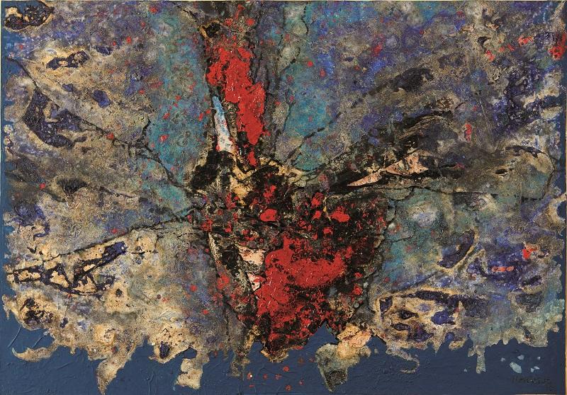 """CÉSAR MANRIQUE. """"Encuentro"""" (1990)"""