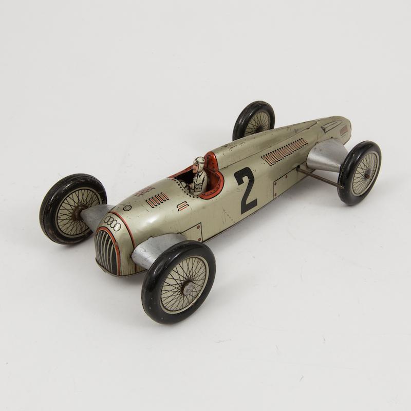 "JNF, ""Auto Union"" racerbil, Tyskland, 1930-tal. Utrop 12.000 SEK. Bukowskis Market"