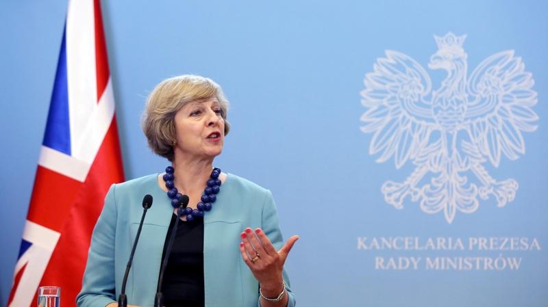 Theresa May a annoncé une longue marche vers le Brexit Image via arcinfo.ch