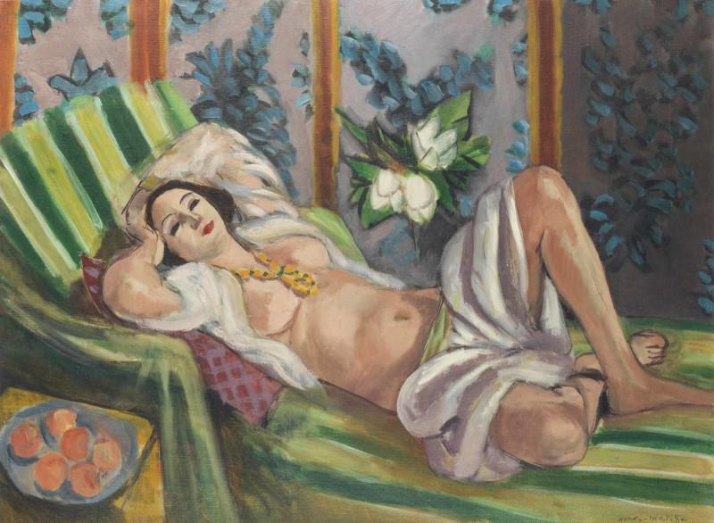 Odalisque couchée aux magnolias, Henri Matisse. Foto: Christie's.