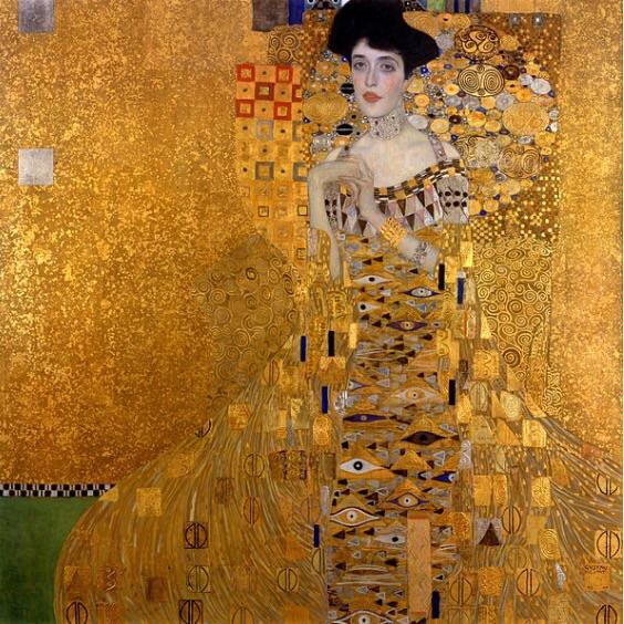 Adele Bloch - Bauer I målad av Gustav Klimt.