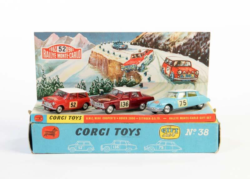 CORGI TOYS Rallye Monte Carlo Set