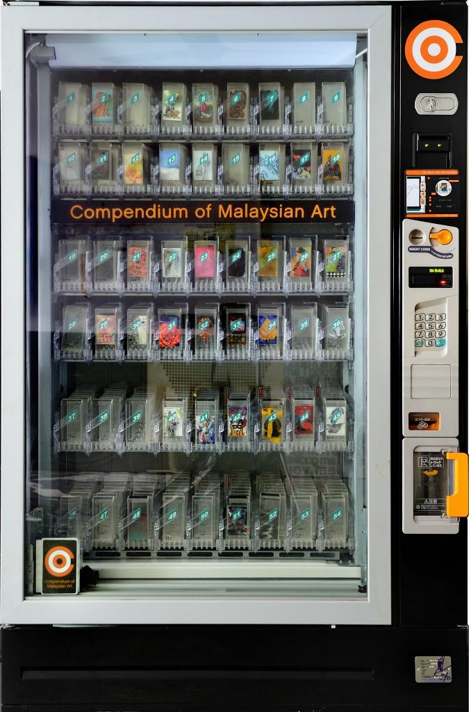 Ivan Lam, COMA 38/500, Vending machine 圖片取自:ART STAGE SINGAPORE