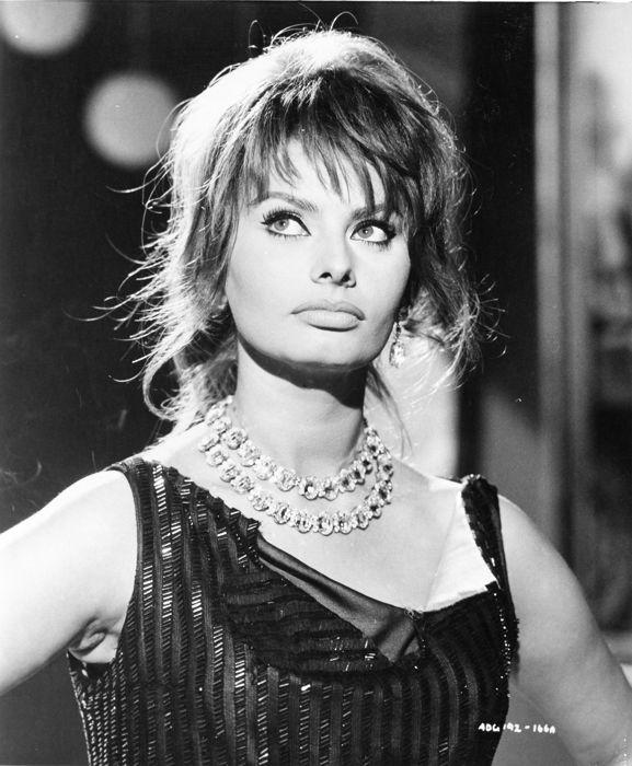 Sophia Loren år 1960. Foto: Catawiki.