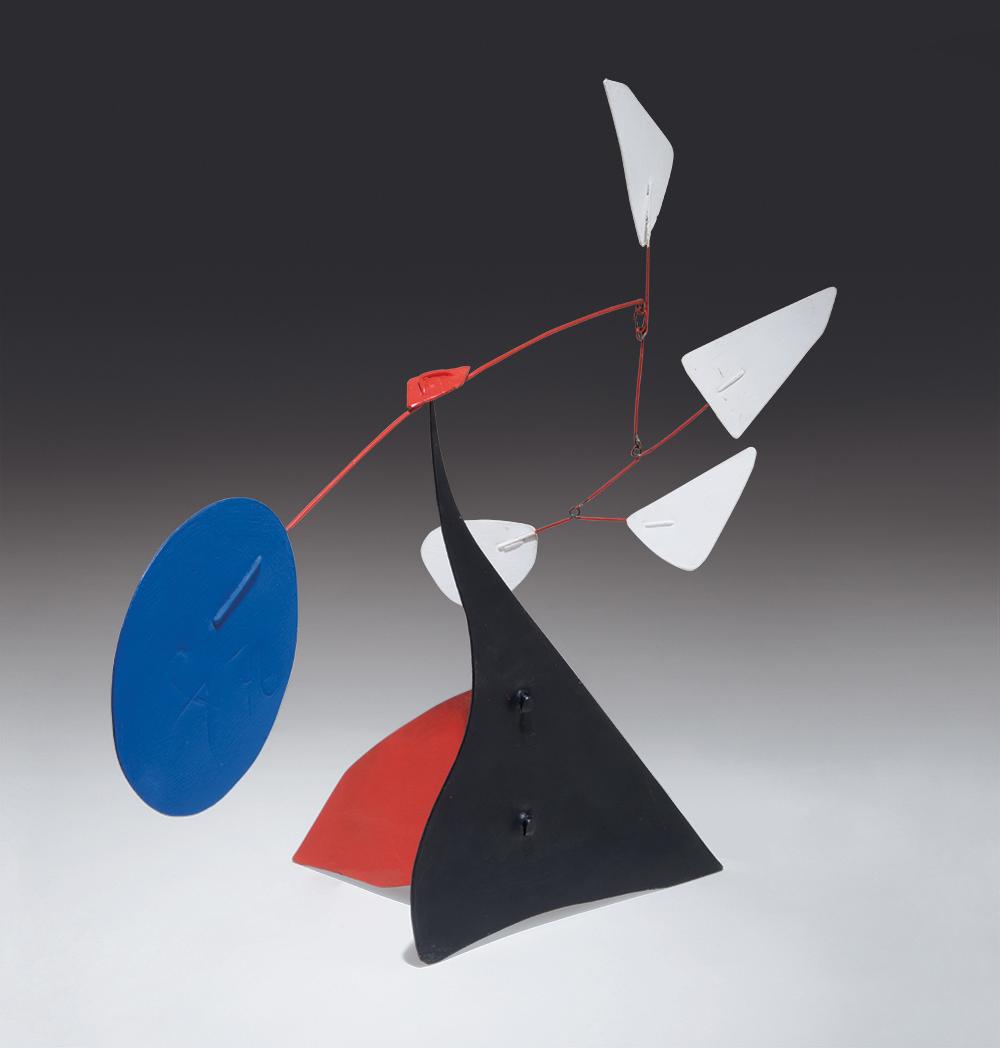 Lot 167 Alexander Calder Quatre Blancs 1976