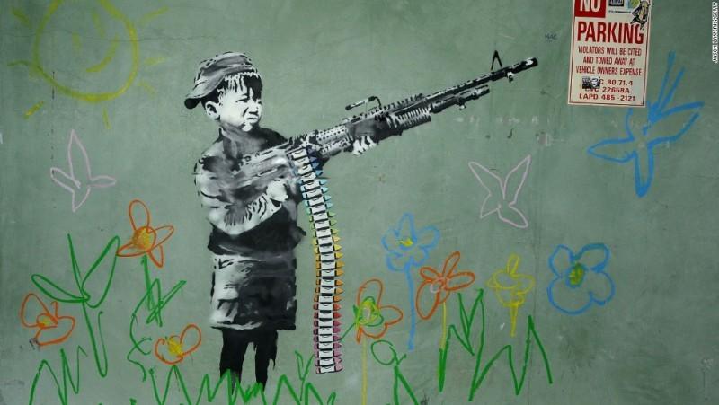 """The Crayola Shooter"", Los Angeles 2011 | Foto: CNN.com"