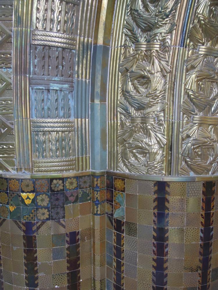 Detalj från Ungerns paviljong.