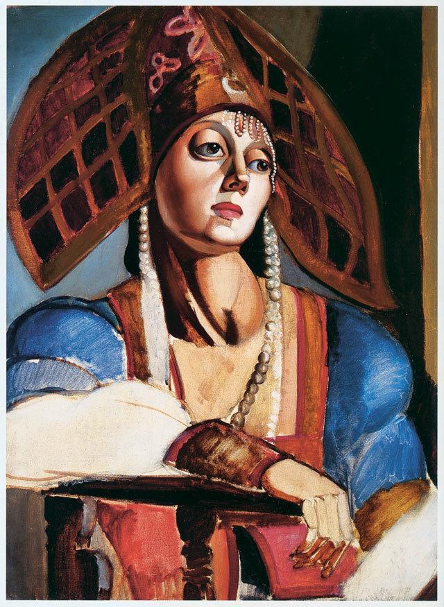 Tamara de Lempicka, Danzatrice russa (Danseuse russe), 1924   Abb.: ©Tamara Art Heritage