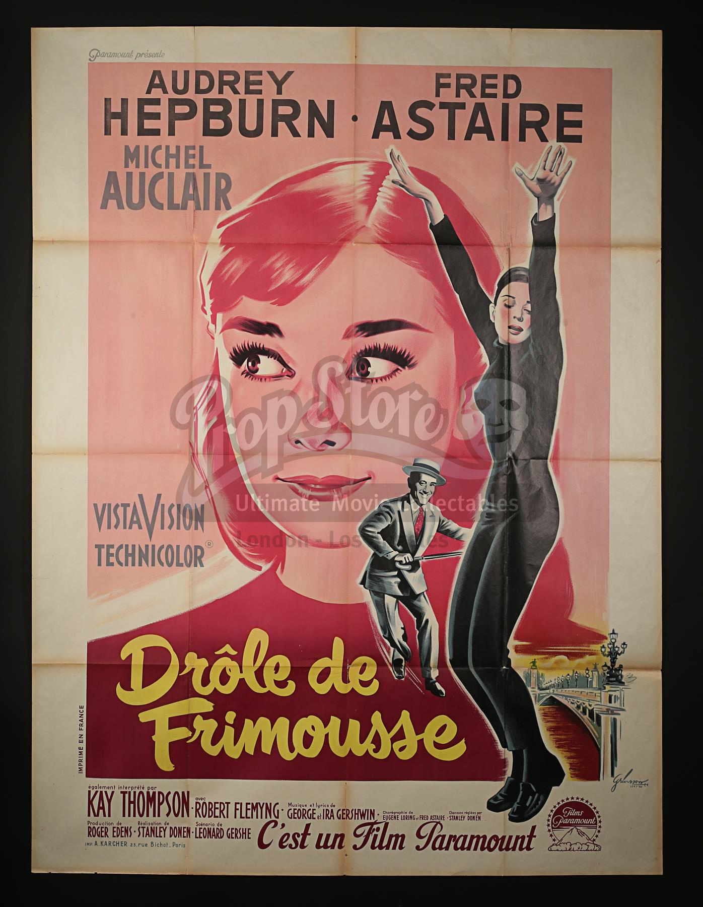 Funny Face (1957) by Boris Grinsson. Image: Prop Store