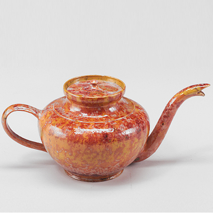 Teapot with snake-like spout, sold for $54,625