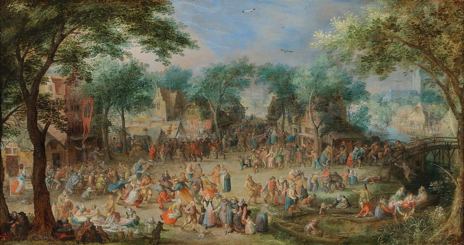 David Vinckboons (Mechelen 1576 – circa 1632) Saint George's Kermesse