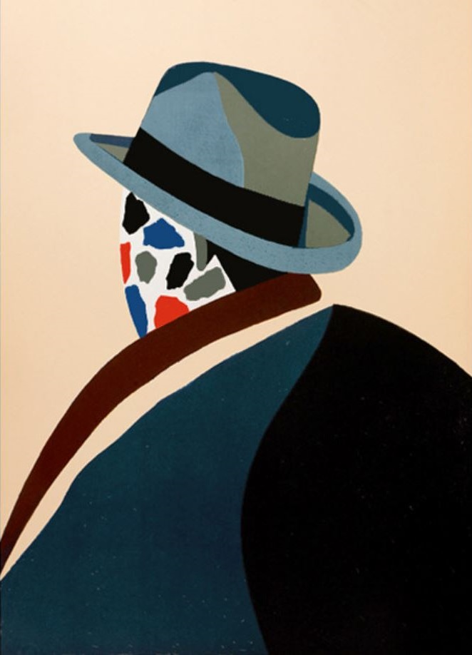 """Eduardo Arroyo obra """"Parmi les peintres"""""""