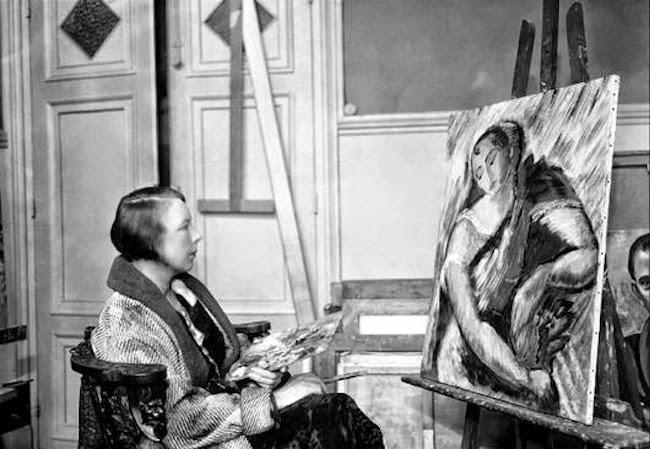 Fick kämpa. Sigrid Hjérten var en av de få som genom sin konstnärliga talang och sin envishet och mod målade och ställdes ut. Men det var få kvinnor förunnat