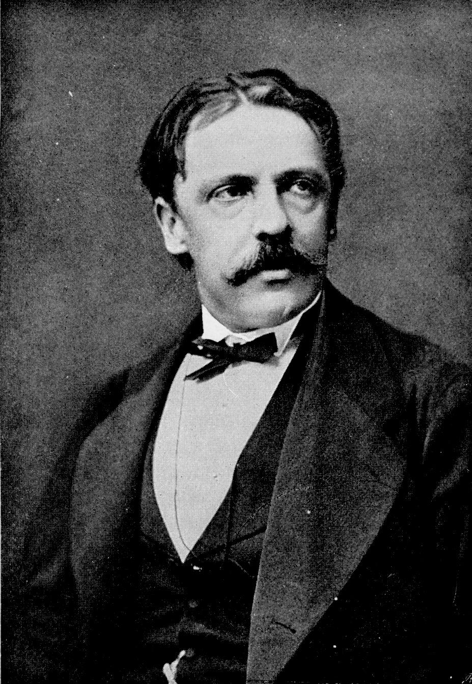 Viktor Rydberg 1876. Bild via Wikimedia Commons.