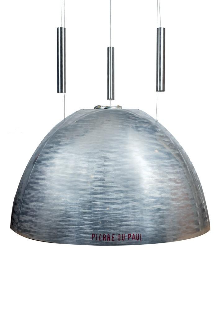 """Lámpara de techo de INGO MAUTER y su estudio. Modelo """"Pierre ou Paul"""" (1996)"""