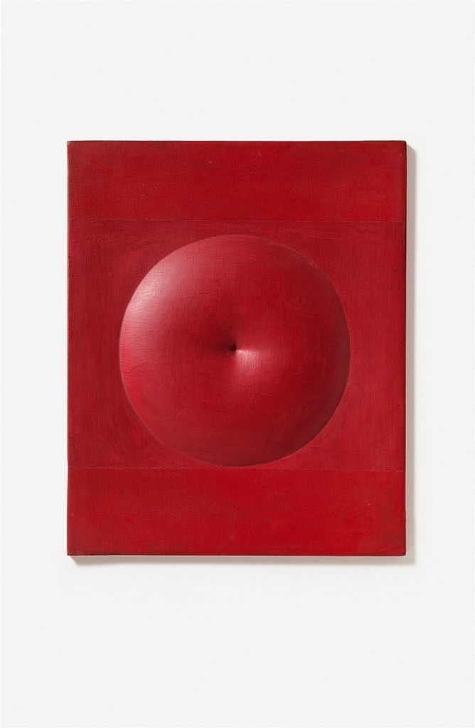 Agostino Bonalumi, 'Rosso', 1971. Photo: Lempertz