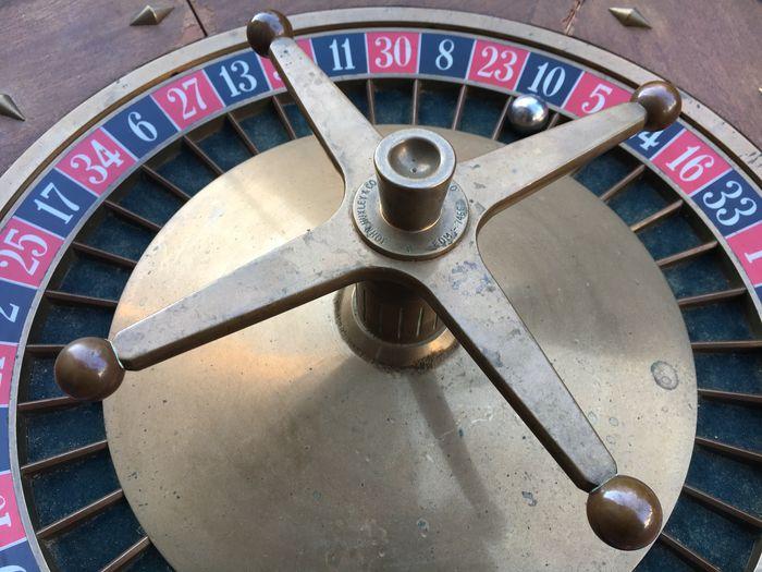 John Huxley - Professionelles Roulette-Rad, London circa 1960 Kein Schätzpreis