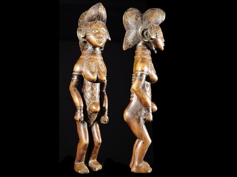 Figura ritual PUNU/LUMBU. Gabón