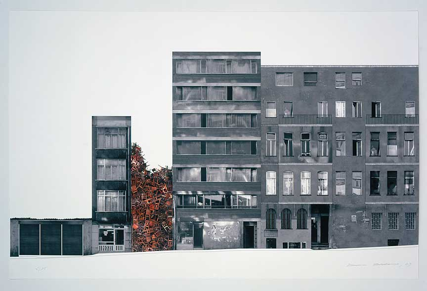 Istanbul Project II, 2003 © Doris Salcedo Courtesy Galila's Collection