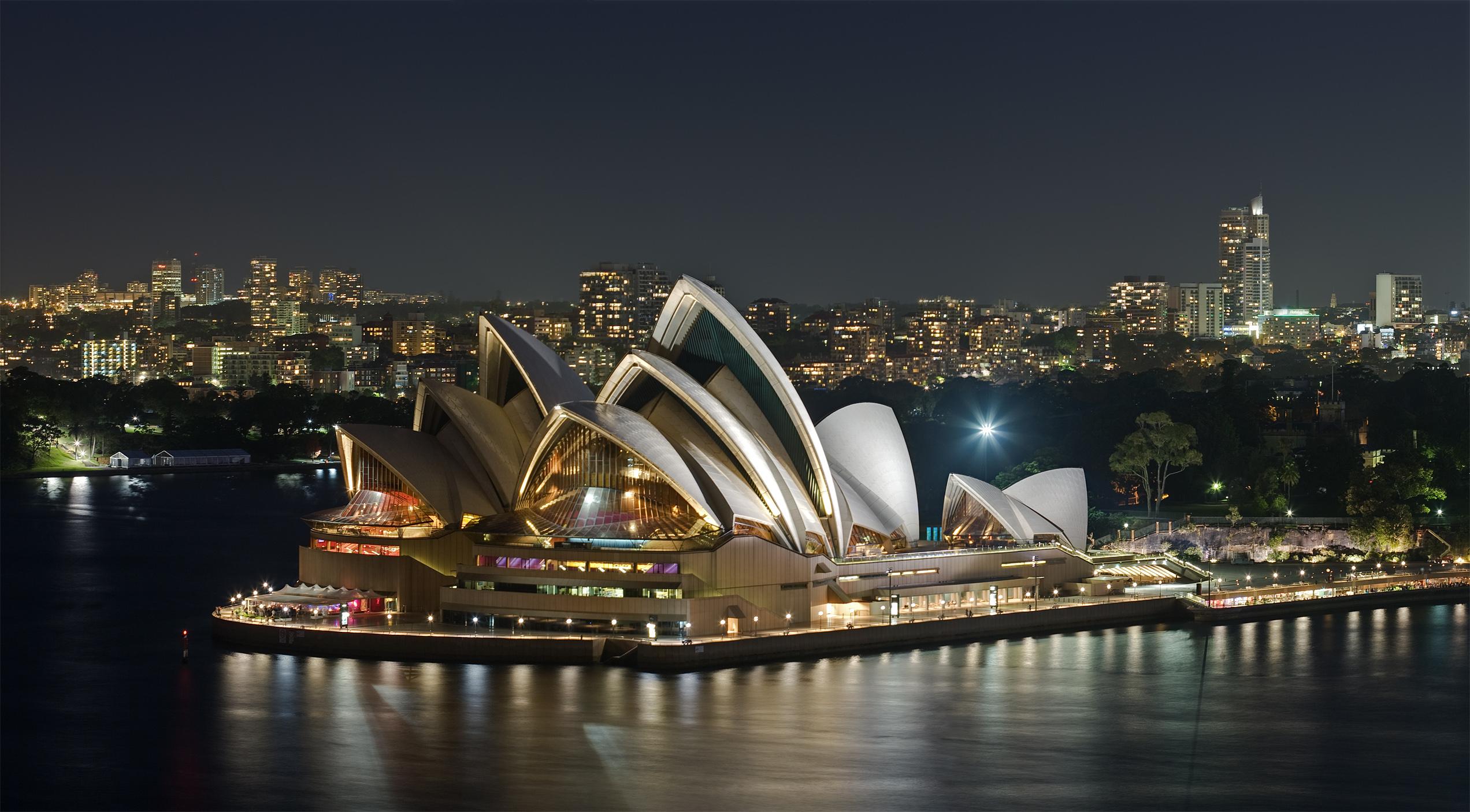 Operahuset i Sydney. Foto via Wikipedia.